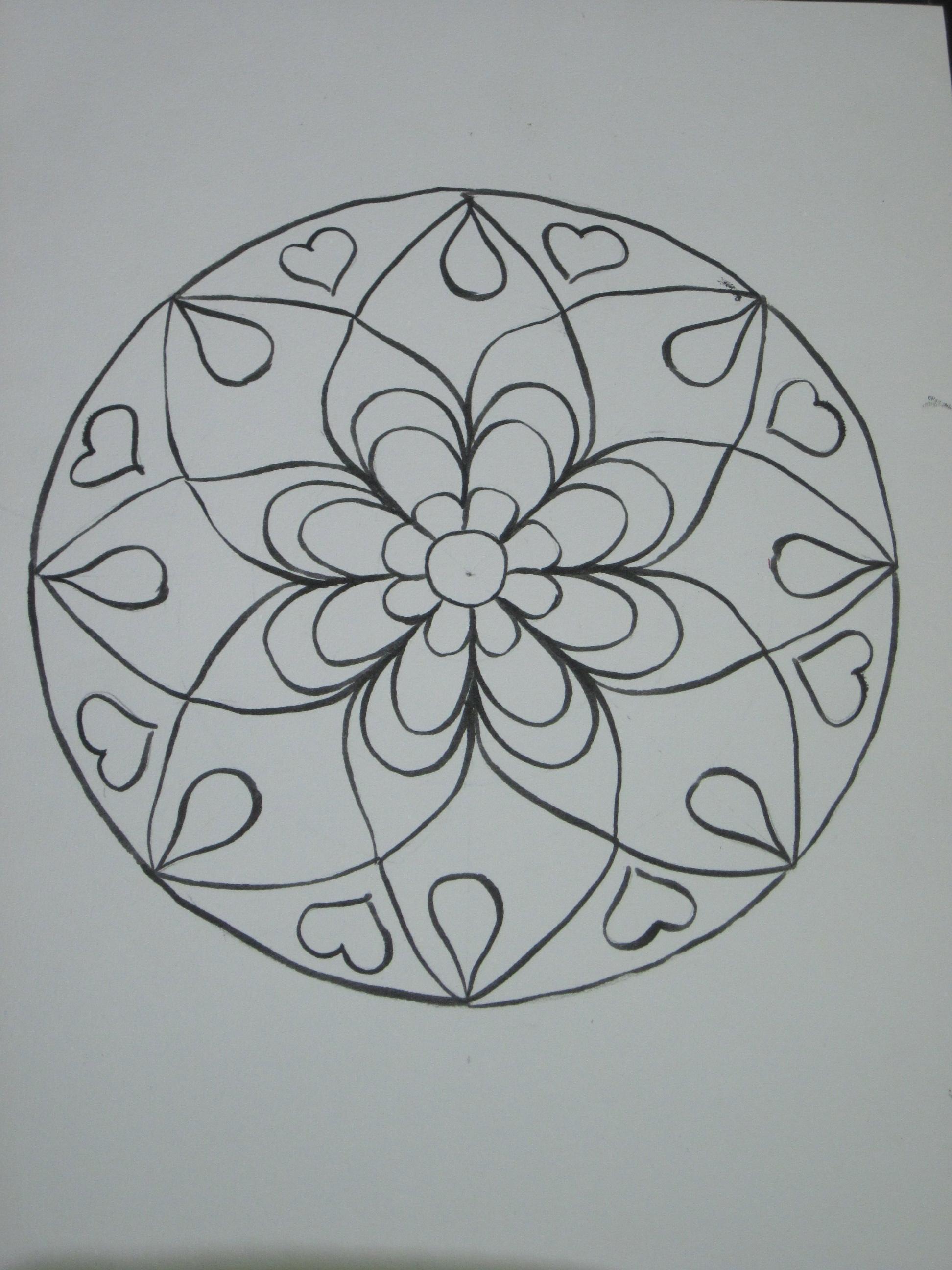 Drawing Mandalas….my way – The Heartsongs Blog
