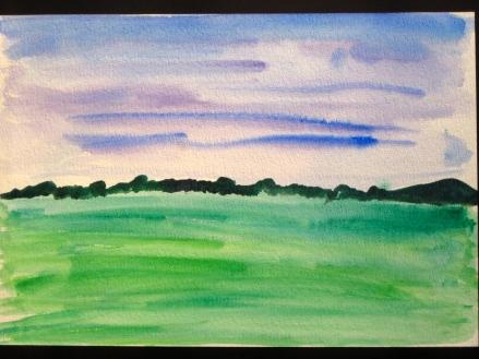 Watercolour experiment 1