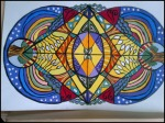Click Sue's mandala to take you to the post