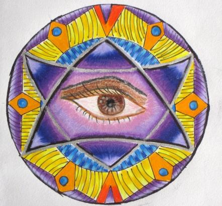Untitled: Original (coloured pencils)