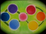 Planets within: Original (soft pastels)
