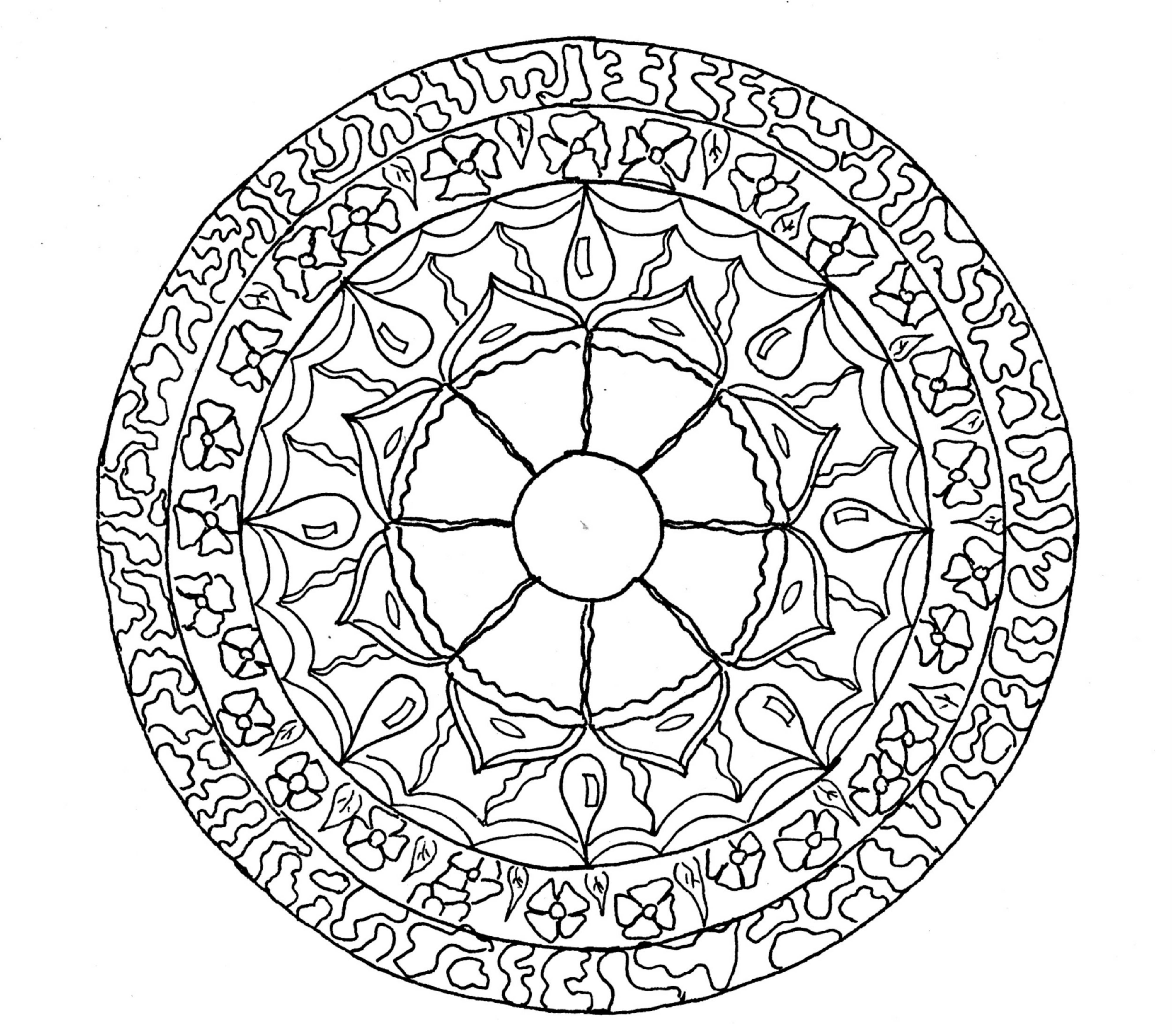 Image Result For Blank Circle Coloring
