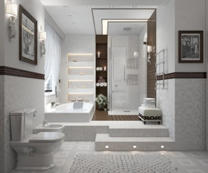Now this bathroom is awesome! Click image for source.