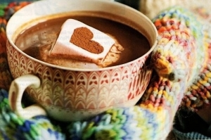 Or, if it's cold where you are, grab some yummy hot chocolate (Click image to get to source)