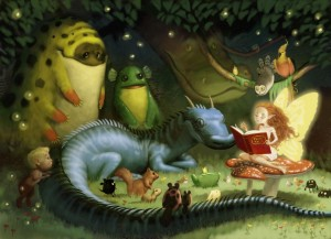 Just because…it's so whimsical and lovely :) Fantasy Art by Kei Acedera, Canada. Click image to source