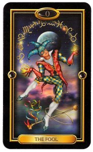 The Fool: Gilded Tarot