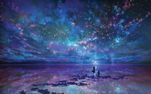 ocean-landscapes-night-stars-fantasy-art-artwork-skyscapes-reflections_2699919