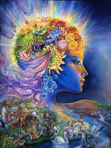 Presence of Gaia by Josephine Wall.