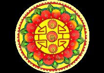 Abundance mandala