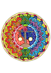 Intention mandala-balance
