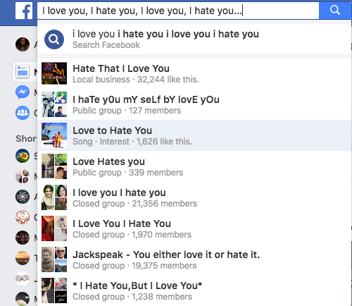 Love-hate-facebook